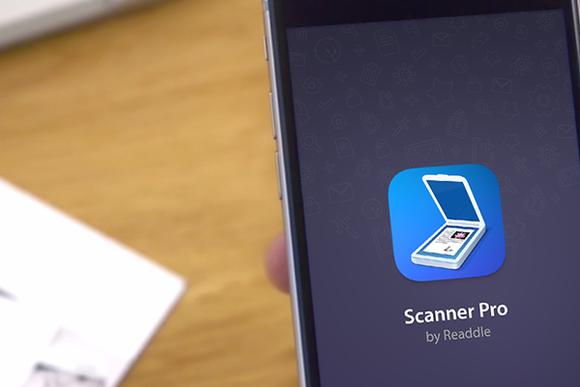 scanner pro ios