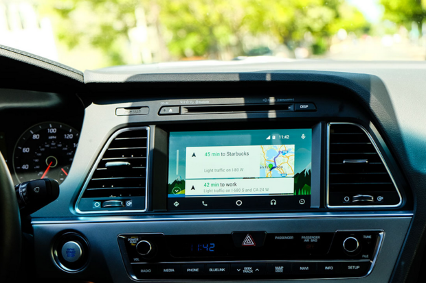 report google prepping car infotainment system separate from android auto greenbot. Black Bedroom Furniture Sets. Home Design Ideas
