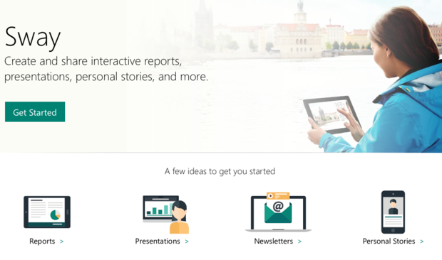 Microsoft Announces Sway, Office Tool for Online Presentations