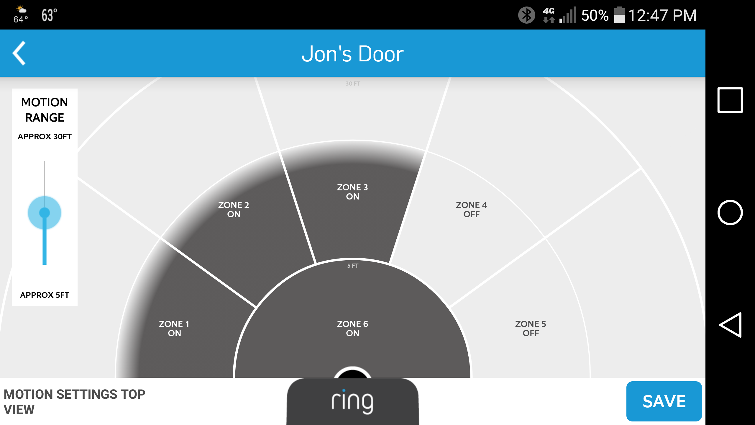 Ring Video Doorbell Review This Gadget Makes Crooks Think Youre In Wall Wiring Kit For Tv Mount Addition Pro Its Important To Fine Tune Motion Detection Zones As Feature Is Very Sensitive