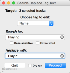 How to replace a character in a string - Apple Community