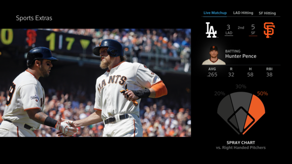 Comcast adds fantasy stats and eye candy to its Xfinity X1