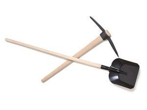 shovel and axe