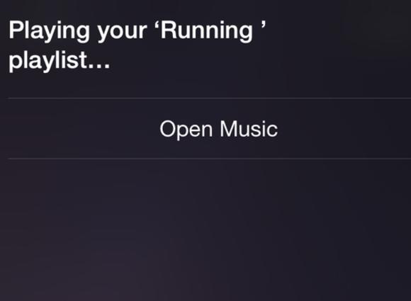 siri apple music playlist