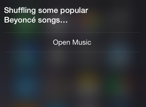 siri apple music shuffle