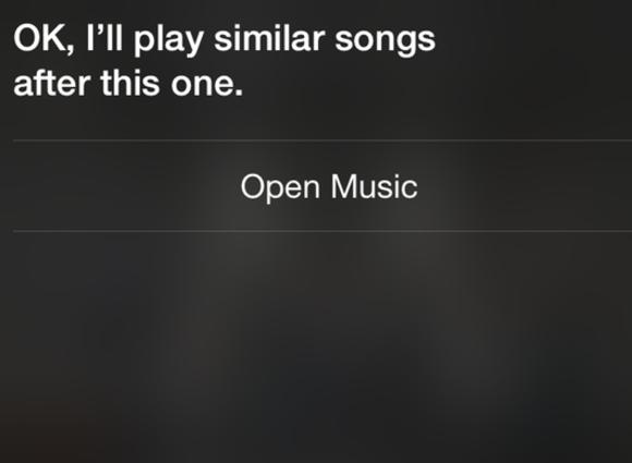 siri apple music similar