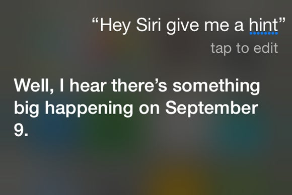 Apple Sept. 9 event: We asked Siri to give us a hint. The ...