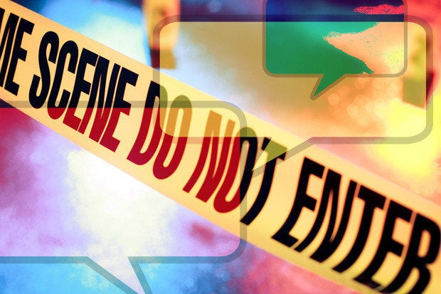 social media crime scene danger