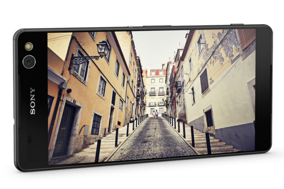 Nieuw Sony unveils selfie-friendly Xperia M5 and waterproof C5 Ultra RR-67