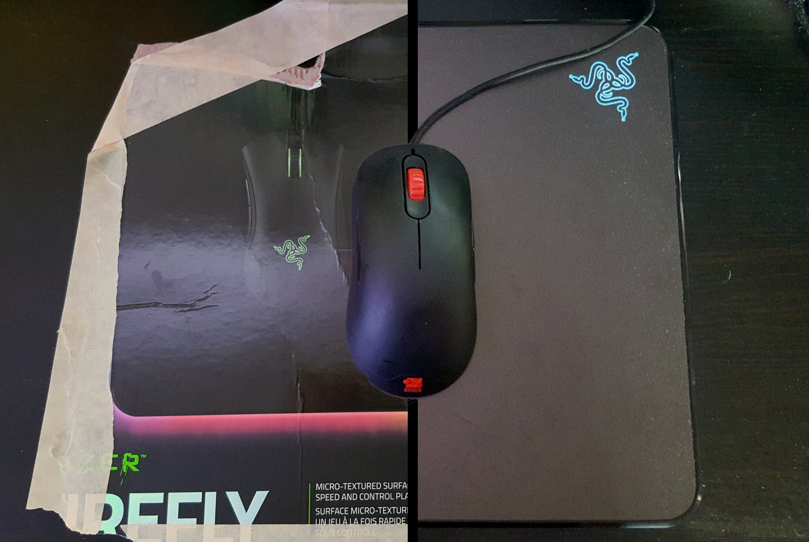 Razer Firefly Review What Cardboard Can Teach Us About A 60 Mouse Pad Gaming E Blue Value Pack Mousepads Pure Luxury Pcworld