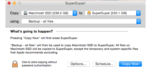 startover superduper to the rescue