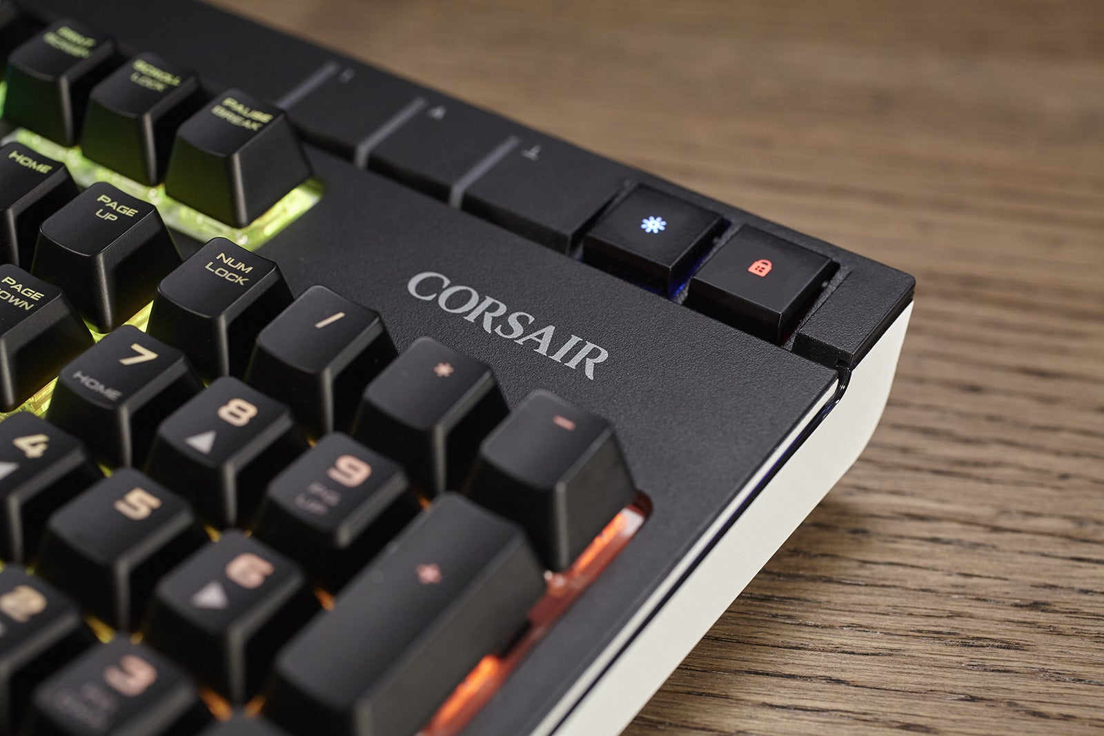Corsair And Cherry Develop New Silent Mx Red Mechanical Gaming K95 Rgb Brown Keyboard Switch Pcworld