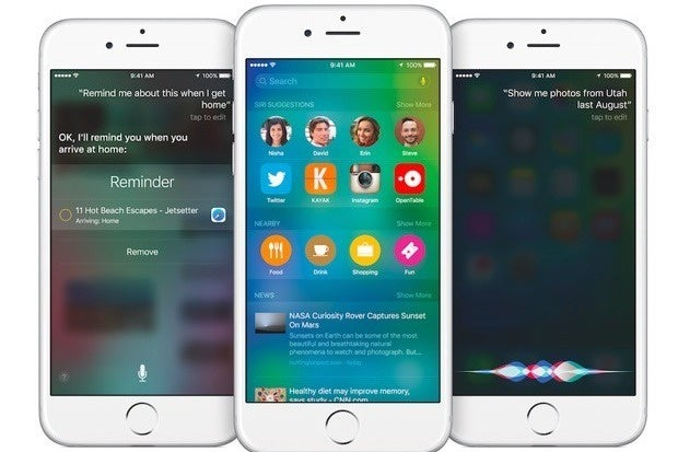 Apple, iOS 9, iPhone, iPad, security, privacy, Google Now, Proactive, Siri