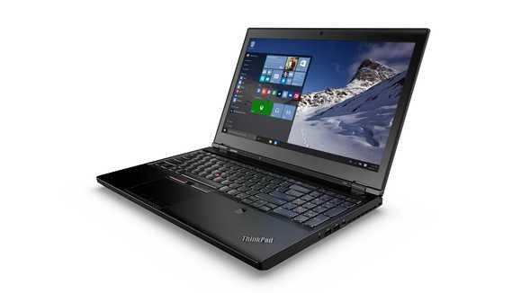 thinkpad p50 with win 10 screen