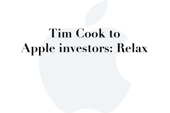 tim cook investors