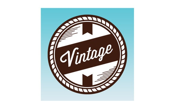 vintage design ios icon