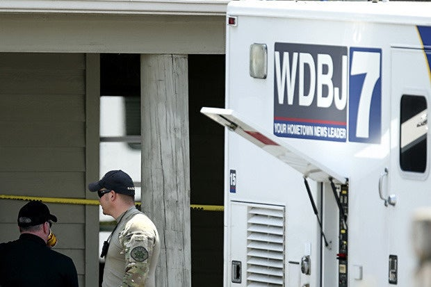 wdbj news truck