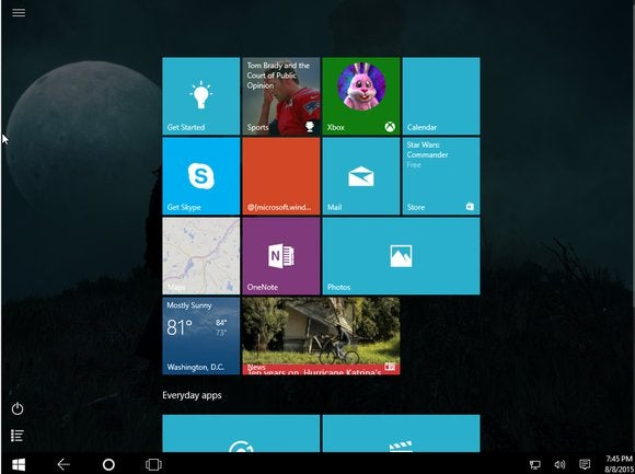 How to boot into Windows 10\u0027s Tablet Mode every time you start your