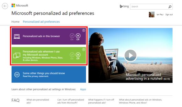windows10 privacy microsoftpersonalizedadsettings