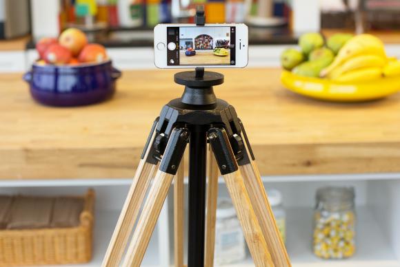 wood camera tripod e58d