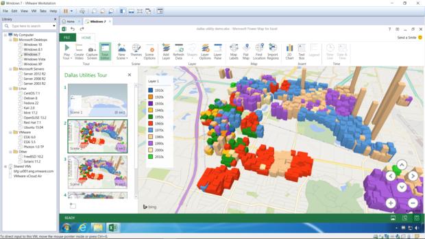 workstation 12 pro win7 vm directx 10 microsoft powermap