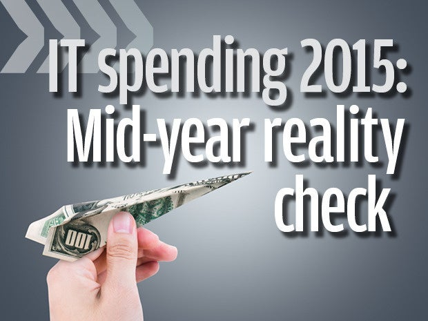 IT spending 2015 mid-year reality check