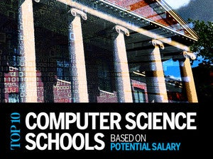 Top 10 computer science schools based on potential salary