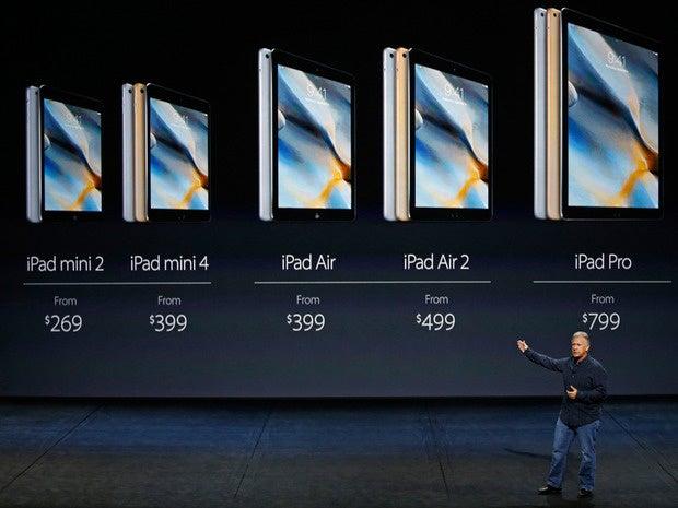 10 ipad pro pricing