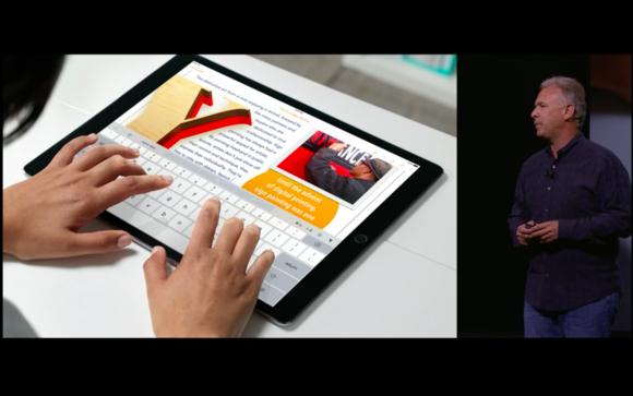 12 ipad pro onscreen keyboard