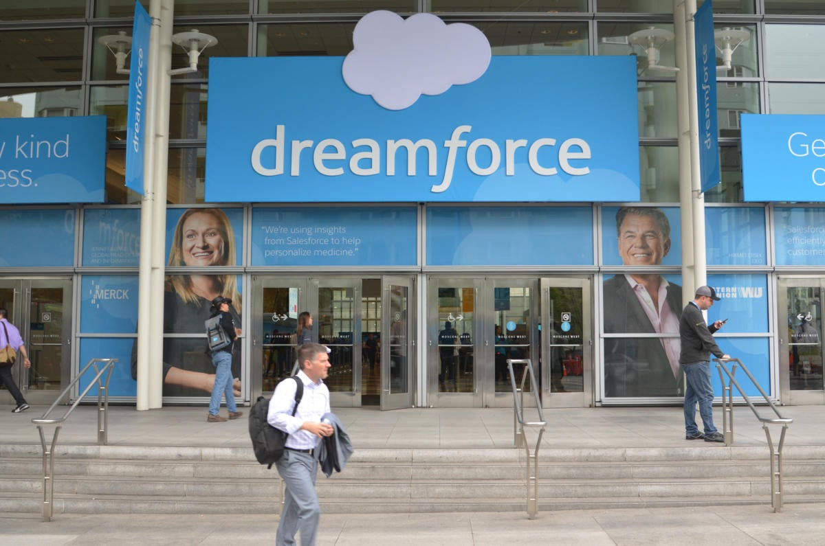 Salesforce kicks off its conference with mobile, IoT updates and more