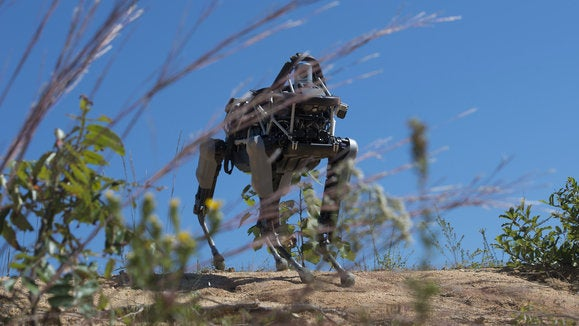 Boston Dynamics Spot robot at Quantico