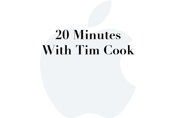 20 minutes tim cook