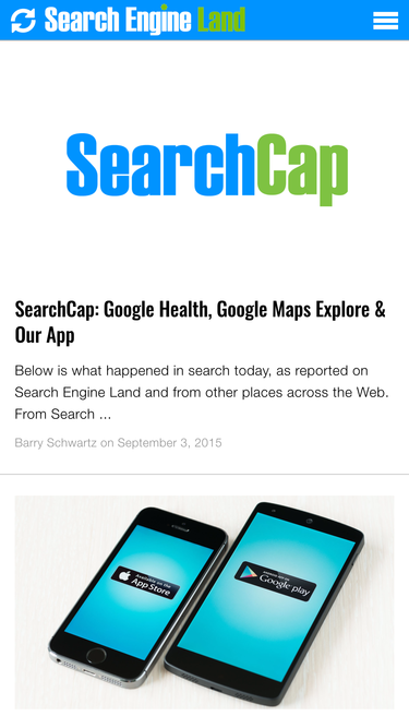Search Engine Land iOS app