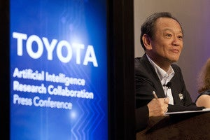 Toyota funds AI research to build autonomous cars