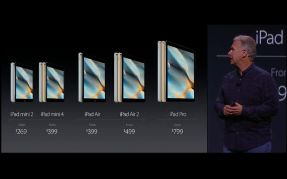 22 ipad lineup