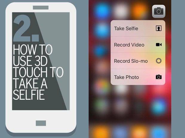 2 3d touch selfie