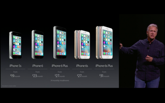 40 iphone lineup