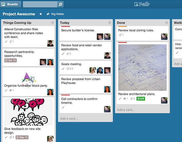 7 best PM apps - trello