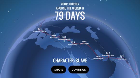 80days journey