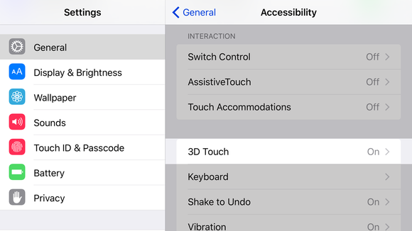 How to adjust 3D Touch pressure sensitivity on the iPhone 6s | Macworld