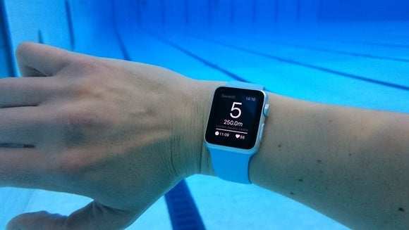 active in time apple watch swimming