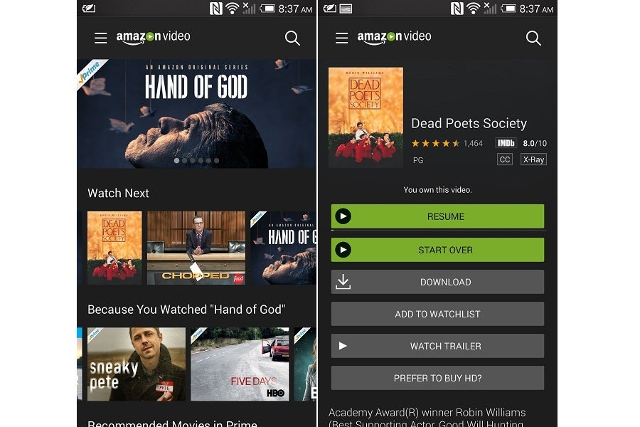 The sad story of Amazon Video on Chromecast and Android TV | TechHive