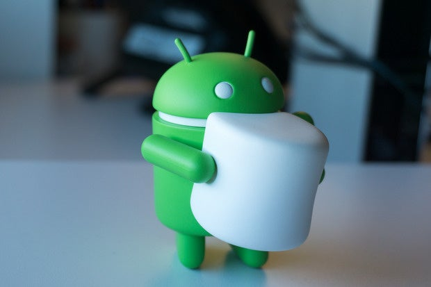 android marshmallow figurine