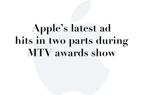 apple ads vma