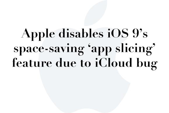 apple app slicing