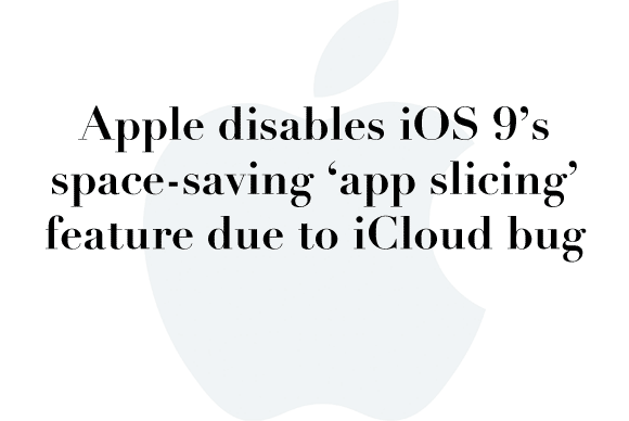 apple app slicing