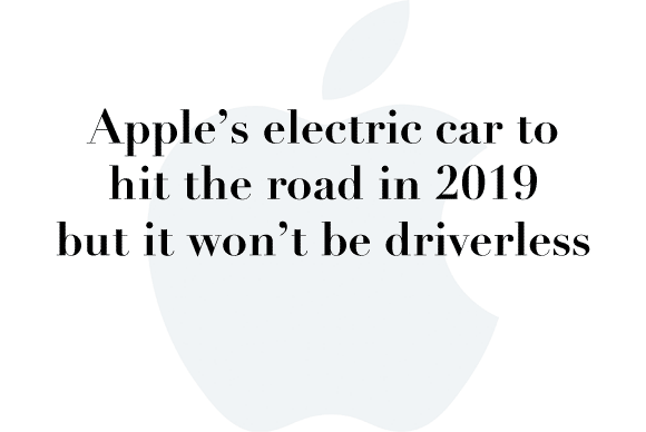 apple car 2019