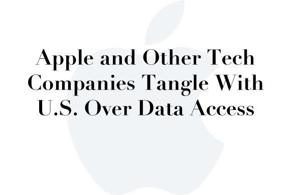 apple data access
