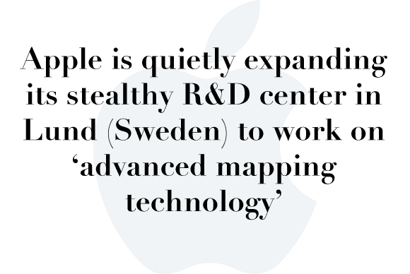apple mapping sweden