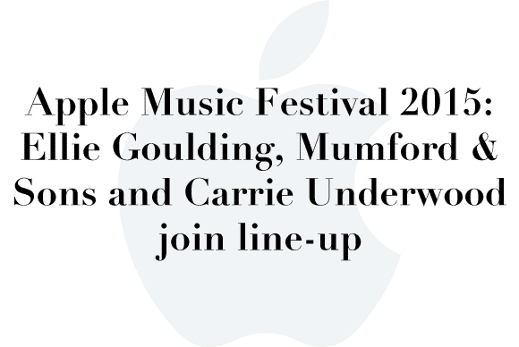 apple music lineup